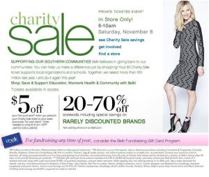 BELK CHARITY DAY